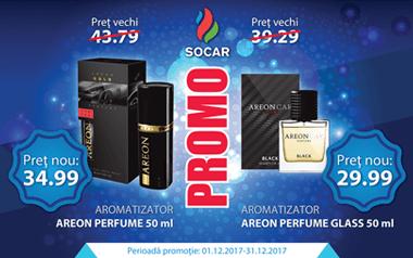 Profită de prețurile speciale la aromatizatoarele Areon