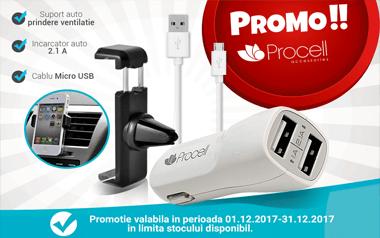 Promo! Vezi prețuri speciale la accesoriile PROCELL