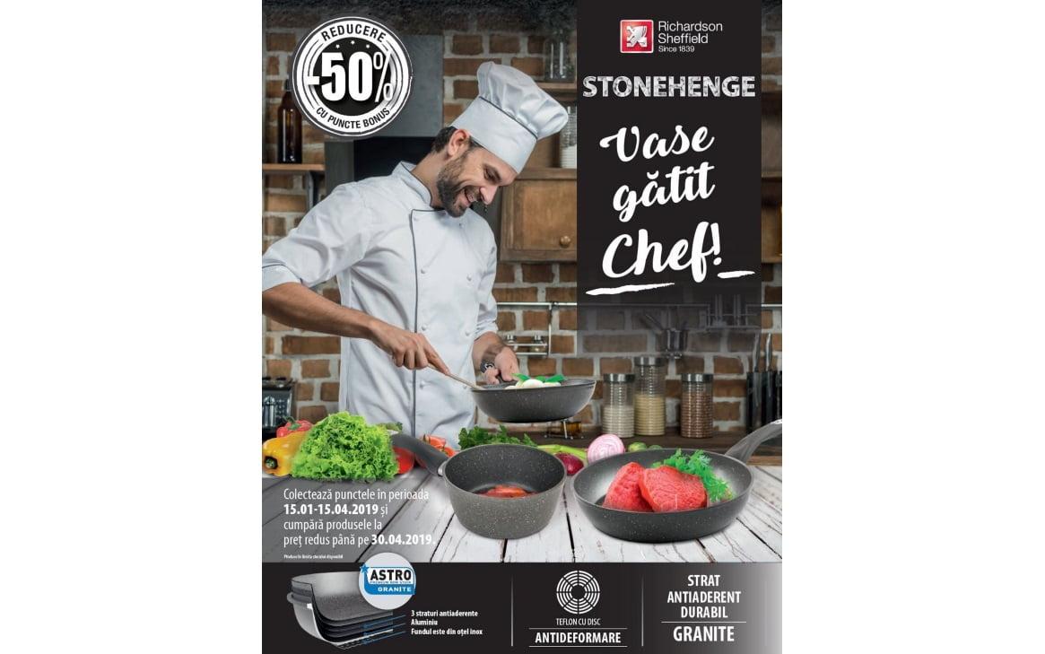 STONEHENGE Vase gatit Chef!