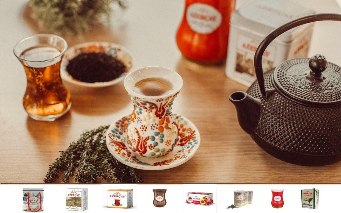 Ceaiul azer – o încântare a simțurilor