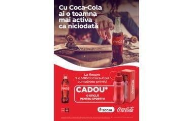 Cu Coca-Cola ai o toamnă mai activă ca niciodată
