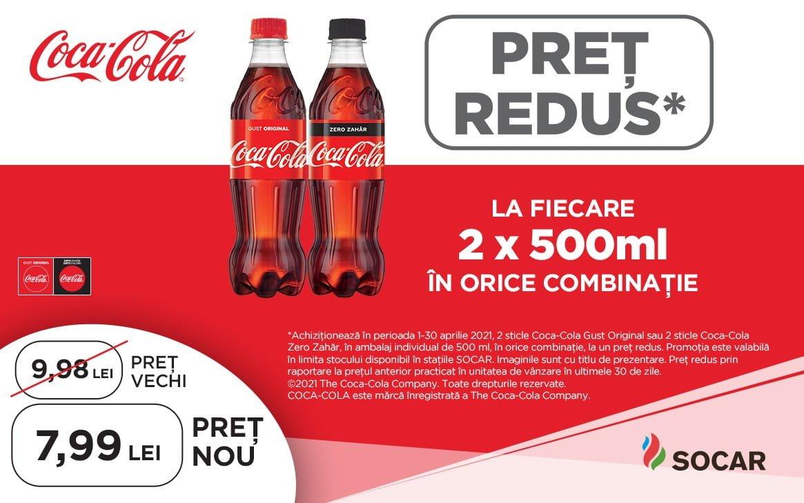 PREȚ REDUS Coca-Cola